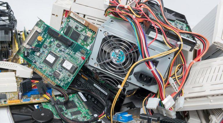 Entrümpelung von Elektroschrott - AH Entrümpelung